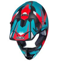 HJC CS-MX II Madax Full Face Helmet For Men Teal Top View