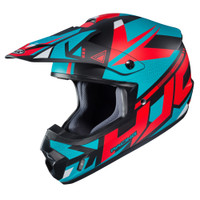 HJC CS-MX II Madax Full Face Helmet For Men Teal View