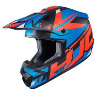 HJC CS-MX II Madax Full Face Helmet For Men Blue View