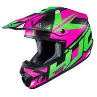 HJC CS-MX II Madax Full Face Helmet For Men Pink View