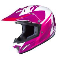HJC CL-XY II Youth Argos Full Face Helmet Pink View