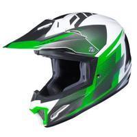 HJC CL-XY II Youth Argos Full Face Helmet Green View
