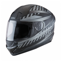 Zox Thunder Blade R2 Full Face Helmet For Men Matte Gray/Black