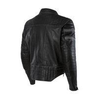 Olympia Long Beach Leather Jacket For Men's