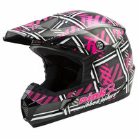 GMax MX-46 Off Road Pink Ribbon Riders Helmet