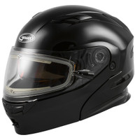 GMax MD-01S Solid Helmet W/Electric Shield