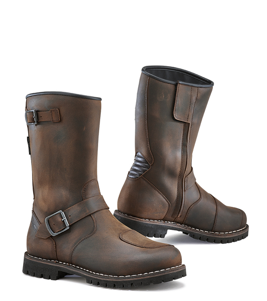 TCX Fuel Waterproof Vintage Look All Weather Boots For Men Brown Color View