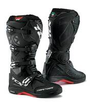 TCX Comp EVO 2 Michelin® MX Enduro High Performance Off Road Racing Boots Black/White/Red View