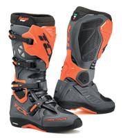 TCX Comp EVO 2 Michelin® MX Enduro High Performance Off Road Racing Boots Dark Gray/Orange Flo View