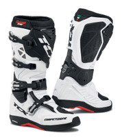 TCX Comp EVO 2 Michelin® MX Enduro High Performance Off Road Racing Boots White/Black View View
