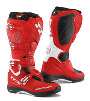 TCX Comp EVO 2 Michelin® MX Enduro High Performance Off Road Racing Boots Red/White View