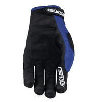 Five MXF3 Off Road Motocross Gloves Blue Palm View