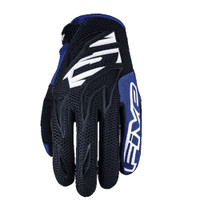 Five MXF3 Off Road Motocross Gloves Blue View