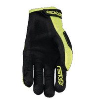Five MXF3 Off Road Motocross Gloves Yellow Palm View