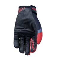 Five MXF4 Motocross Off Road Gloves Red Palm View