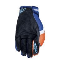 Five MXF4 Motocross Off Road Gloves Orange Palm View