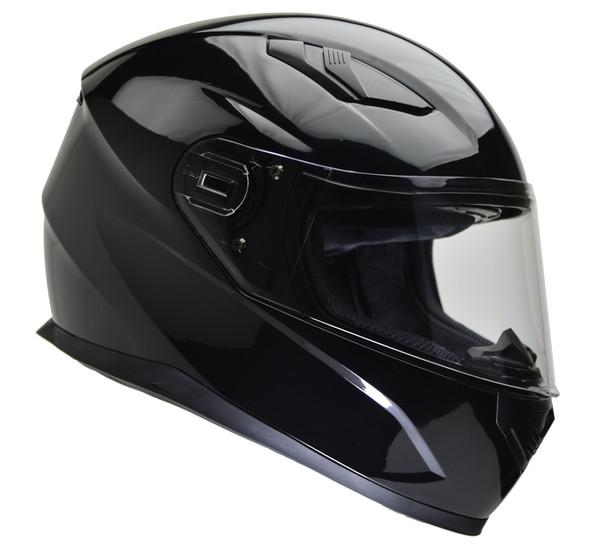 Vega Ultra Street Full Face Helmet Gloss Black View