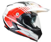 Vega Cross Tour 2 Dual Sport Helmet For Men Red View