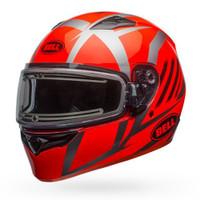 Bell Qualifier Blaze Snow Helmet Electric Shield