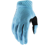 100% Men's Ridefit Gloves Blue/Black View