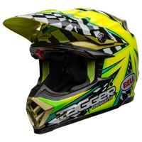 Bell Moto-9 Carbon Flex Tagger Mayhem Helmet