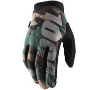 100% Men's Brisker Cold-Weather Gloves Camo/Black View