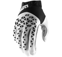 100% Airmatic Off Road Gloves For Men's Black/White/Silver View