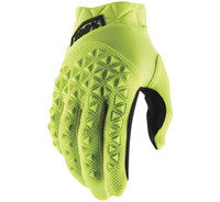 100% Airmatic Off Road Gloves For Men's Yellow/Black View