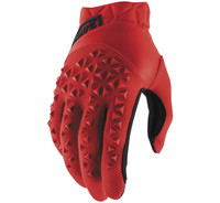 100% Airmatic Off Road Gloves For Men's Red/Black View