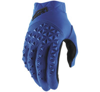 100% Airmatic Off Road Gloves For Men's Blue/Black View