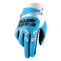 100 % Airmatic Off Road Gloves For Men Blue/White/Black View