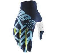 100% Men Off Road Celium 2 Gloves Blue View