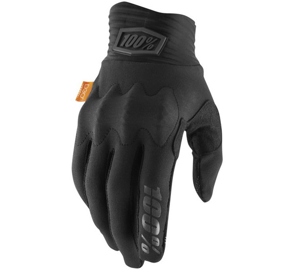 100% Cognito Off Road Gloves For Men's Black/Charcoal View
