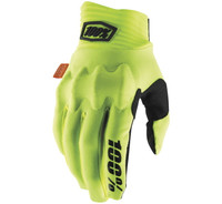 100% Cognito Off Road Gloves For Men's Fluorescent Yellow/Black View