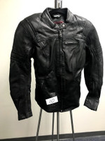 Cortech Women Leather Jacket Black Small