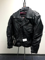 Pokerun Outlaw X-Large Leather Jacket For Men