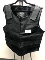 Genuine Leather Extra Large Vest For Men