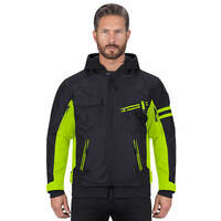Viking Cycle Unshackled Textile Motorcycle Hoodie Jacket for Men