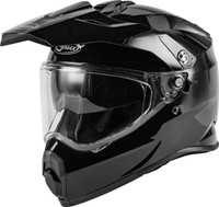 G-Max AT-21Y Adventure Solid Helmet For Youth