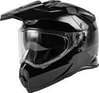 G-Max AT-21 Adventure Solid Helmet For Adult