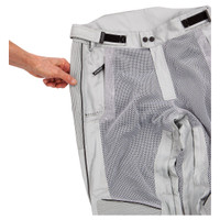 Joe Rocket Phoenix Ion Pants Silver Mesh