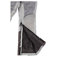 Joe Rocket Phoenix Ion Pants Silver Zipper Closure