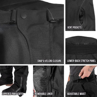 Viking Cycle Saxon Motorcycle Trousers for Men Closeups