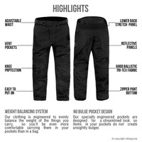 Viking Cycle Saxon Motorcycle Trousers for Men Highlights