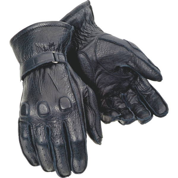 Tour Master Deerskin Men's Gloves Black