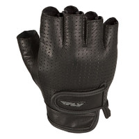 Fly Racing Half-N-Half Perforated Leather Gloves