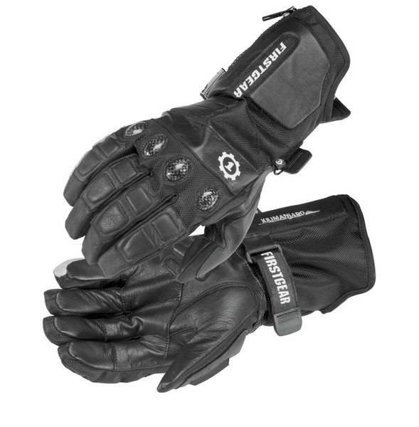 First Gear Kilimanjaro Gloves Black