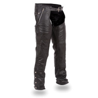 First Classics Soft Milled Cowhide Men Leather Chap