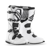 Fly Racing Maverik Boots  White