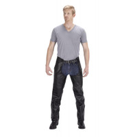 Viking Cycle Plain Leather Chap For Men